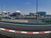 Enjoying the panorama from our grandstand seats