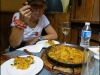 Dining out on Paella - yum!