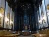 Inside the chapel of the Basílica de Santa Maria del Mar