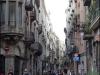 One of the many narrow alleys running through Barri Gòtic