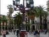 Gaudi's first commissioned works in Plaça Reial