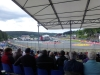 View from our grandstand
