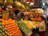 Doing the grocery shopping at La Boqueria
