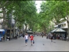 La Rambla - early in the morning before the crowds
