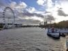 We walked across the Waterloo Bridge
