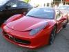A Ferrari - red, of course