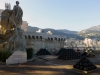 Stacked cannon balls outside the palace - hopefully no longer needed...