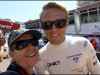 With Max Chilton (Marussia F1 driver) - a thoroughly charming young man
