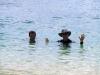 Paul & Matt in the water