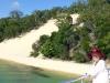 Saying good bye to Moreton and my dune