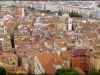Looking down over Nice Ville from Parc de Colline du Chateau