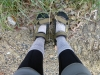 My trusty Indian sandals. They got me through all the creek crossings. Best 1150 rupees I've ever spent!
