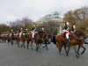Our first full day in Paris was Armistice Day; a holiday in France and marked by many flowers around the city and an impressive parade of horsemen