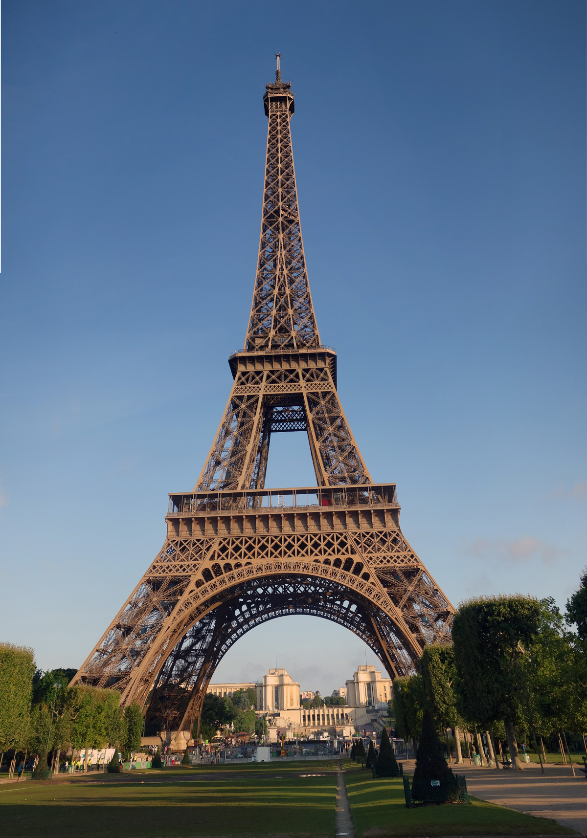 The  Eiffel Tower - one of the worlds most iconic structures