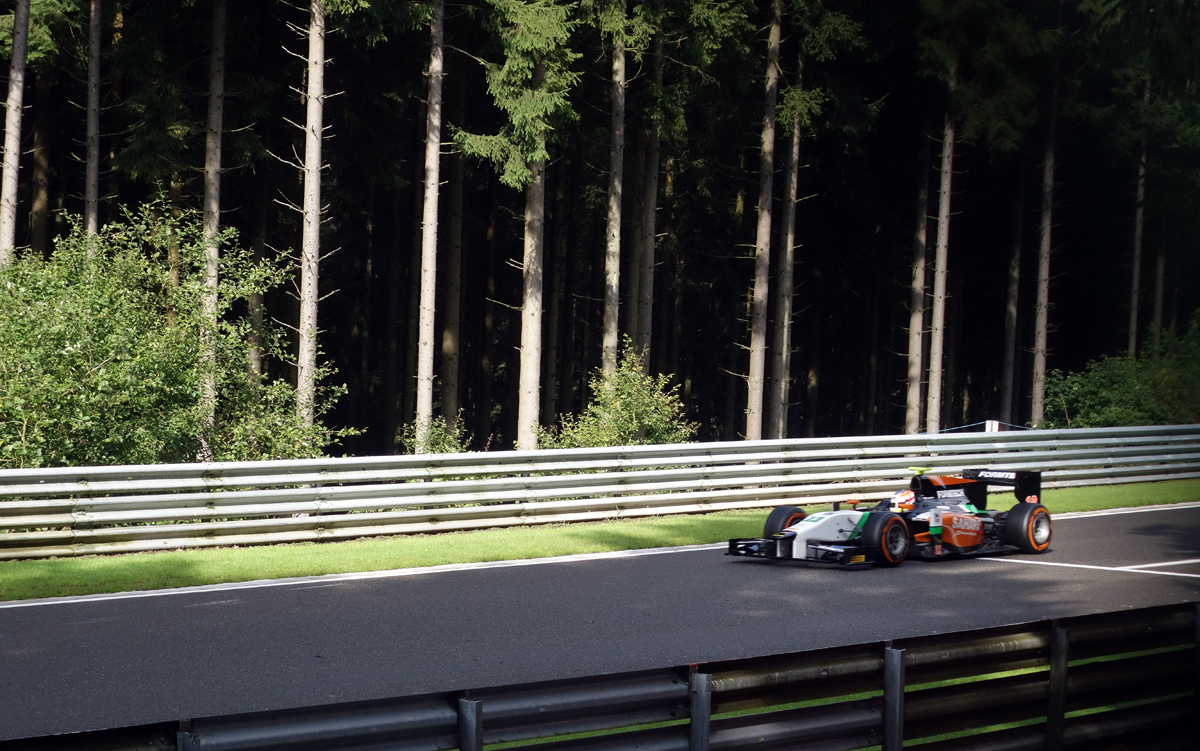 Spa - A challenging track running through the Ardennes Forest in Belgium
