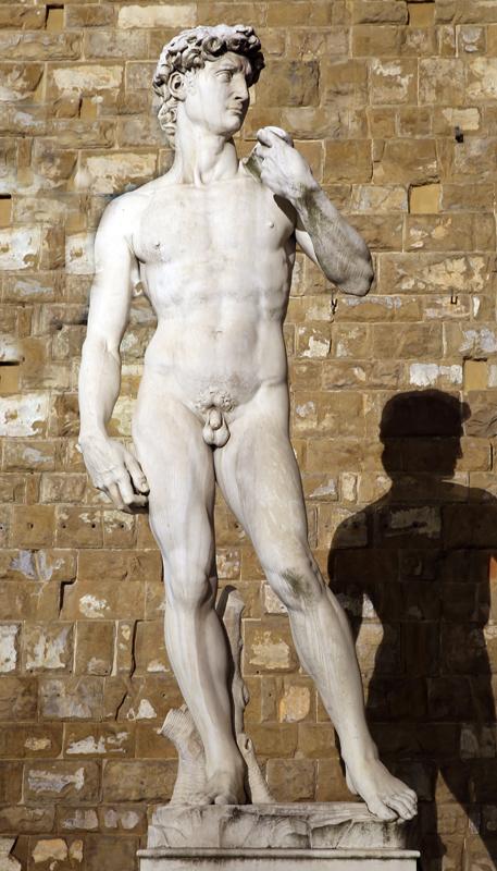 """Replica statue of """"David"""" - Piazza Della Signoria"""