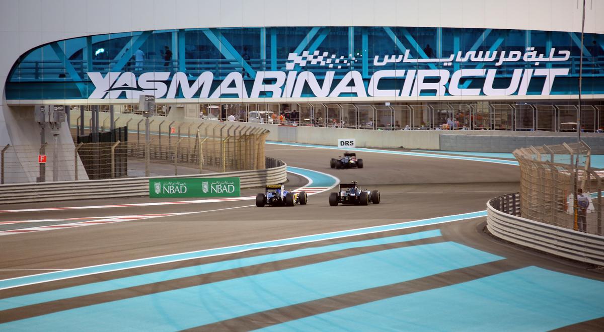 Abu Dhabi race Fri0385
