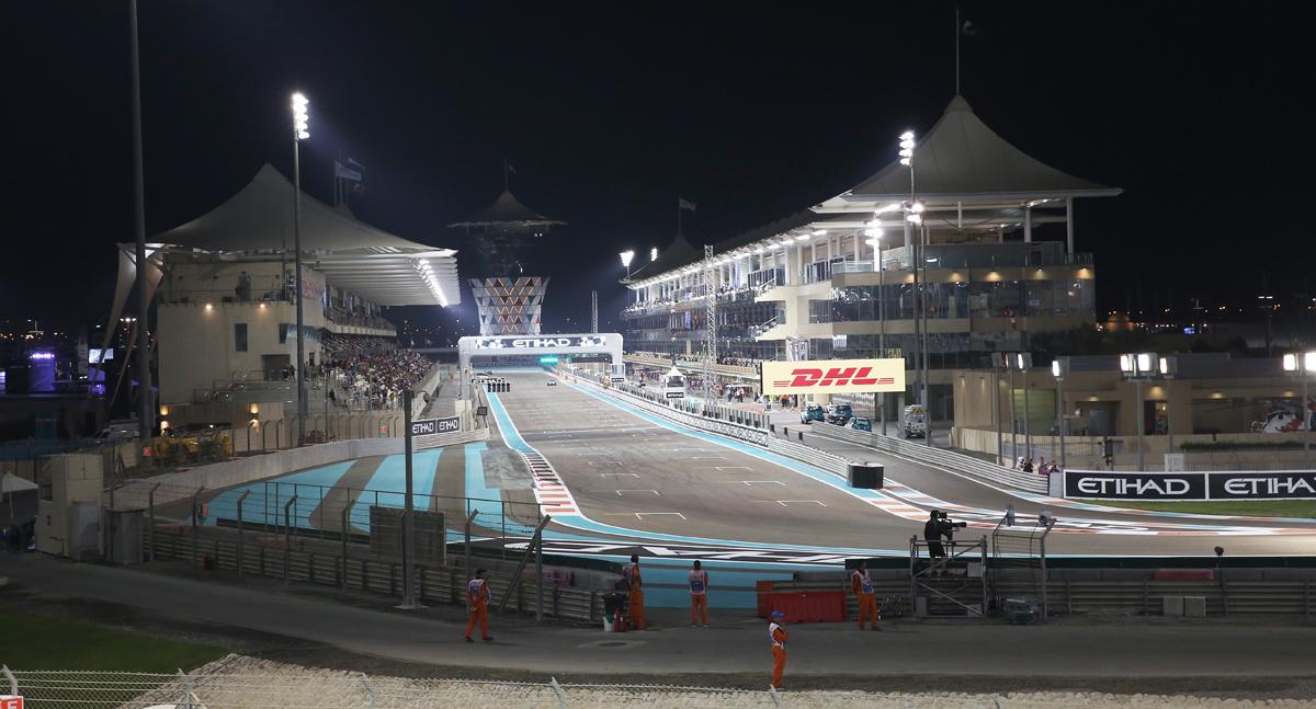Abu Dhabi race Fri0464