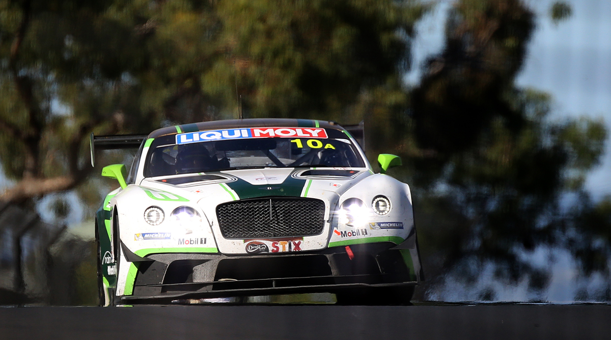 One of my favourites - Bentley Continental GT3 - the best sounding engine of all