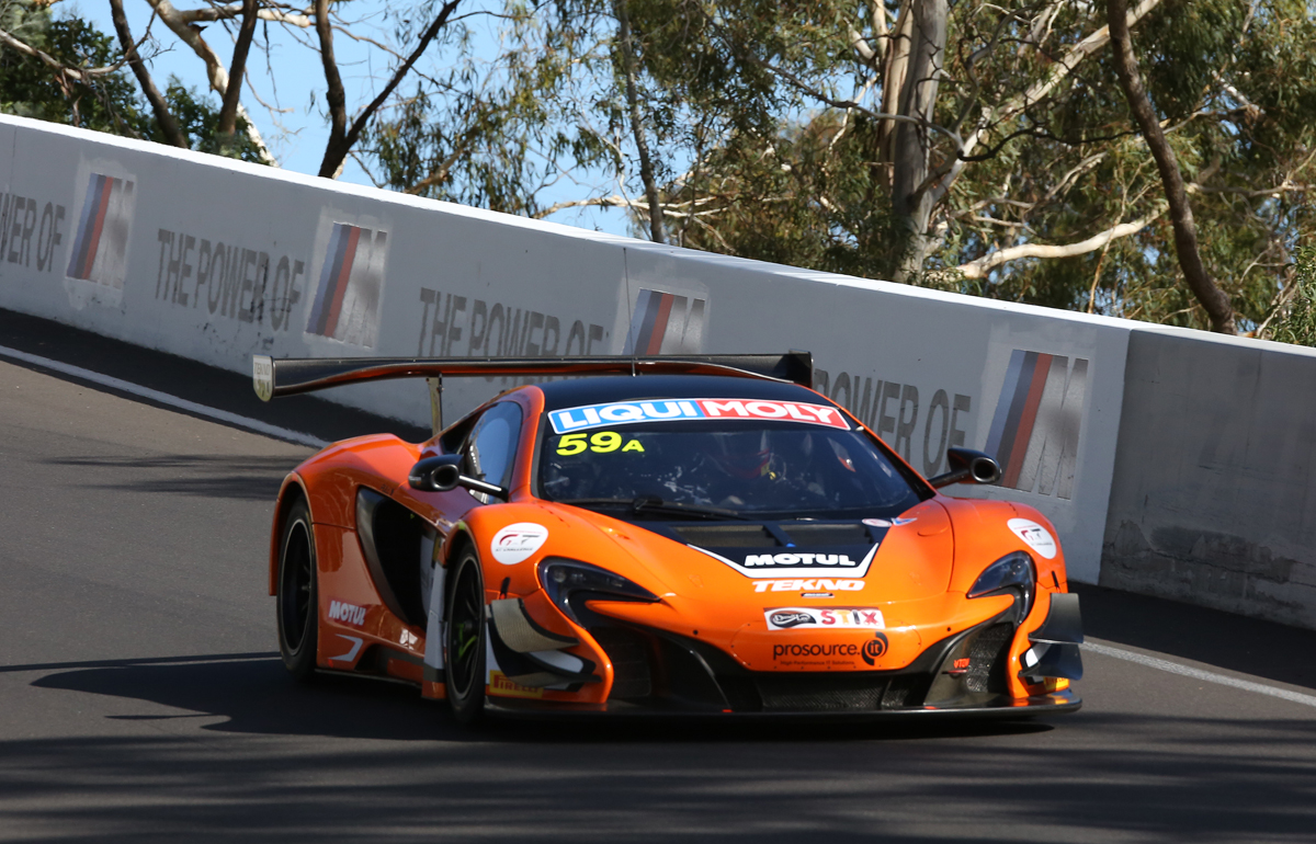 Shane Van Gisbergen - the first Kiwi to win a race for McLaren since Denny Hulme.