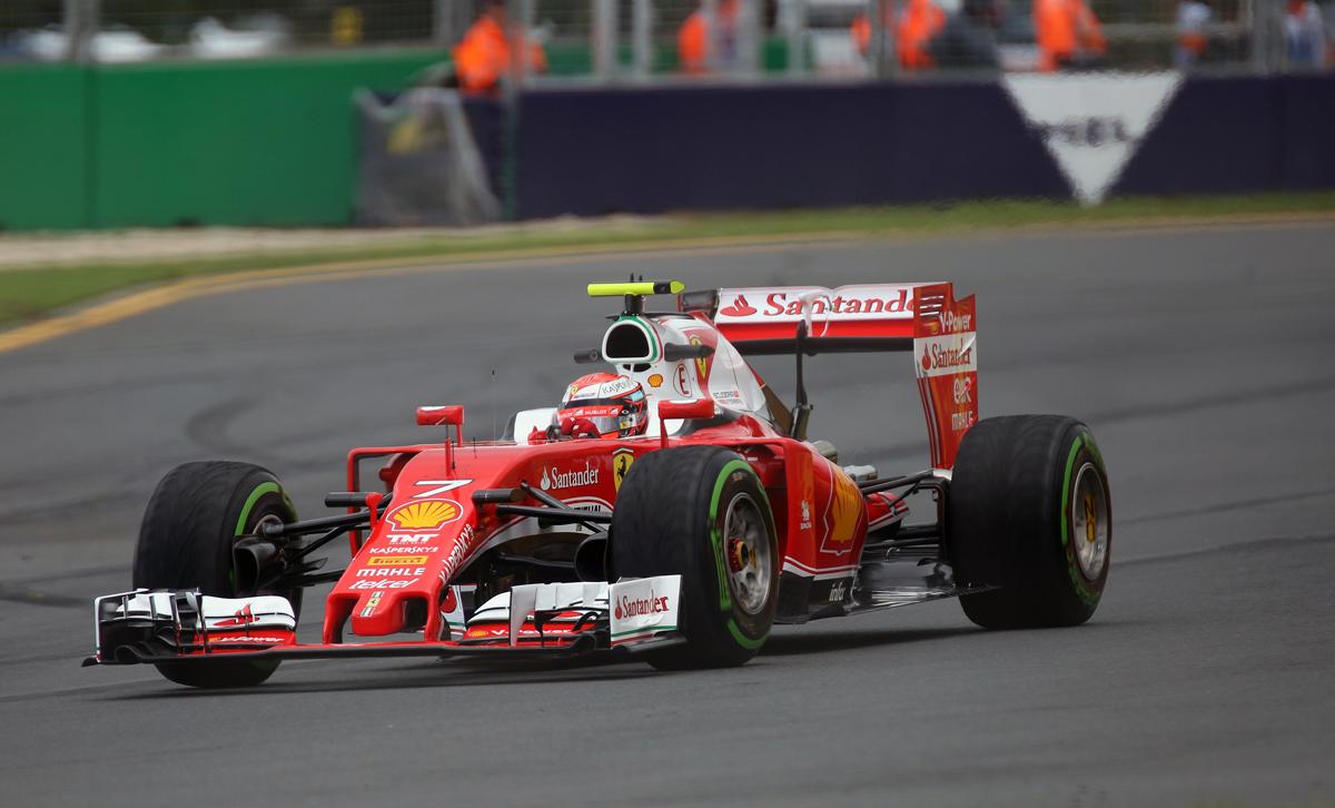 Ferrari has a lot more white this year