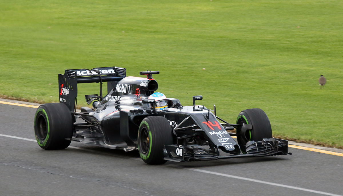 McLaren - hopefully its speed and reliability will match its good looks