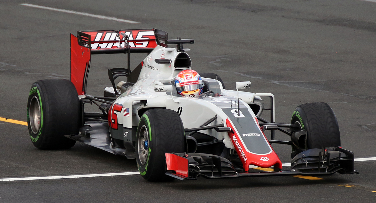 Haas - the new kid on the block.