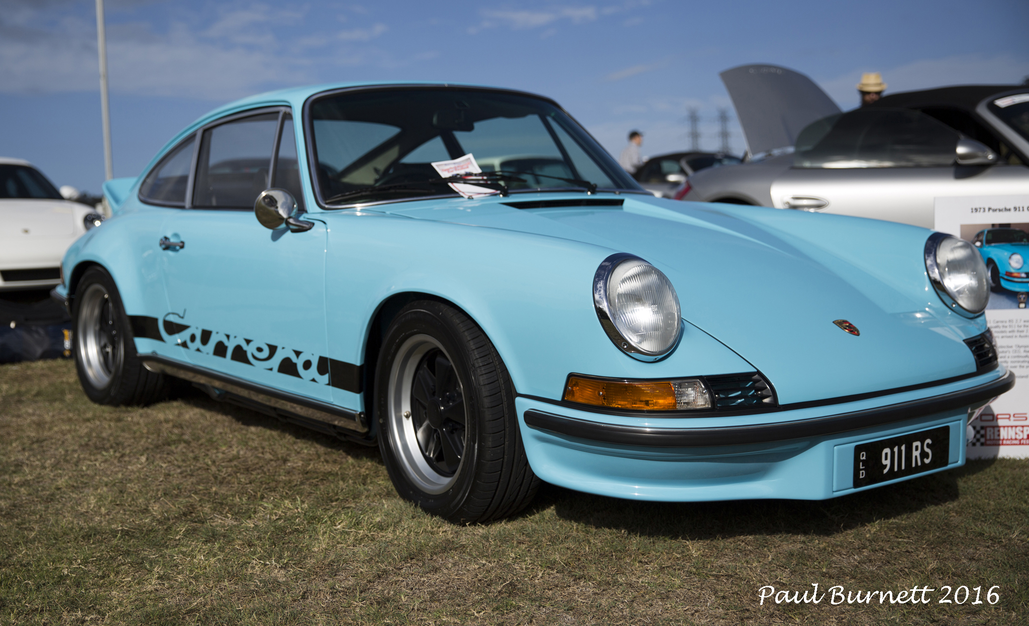Porsche Carrera 2.7 RS - probably the most valuable at the show